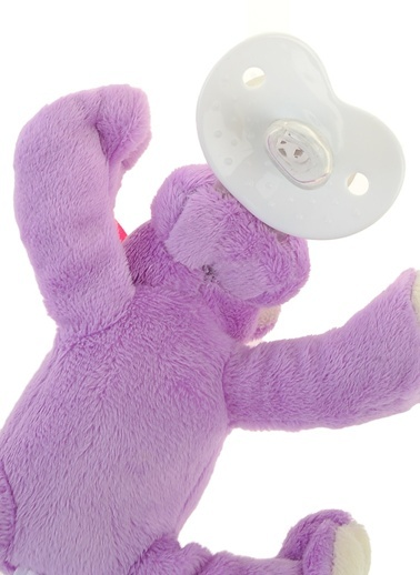 Nookums Shakies Çıngıraklı Emzikli Uyku Arkadaşı Hippo-Nookums